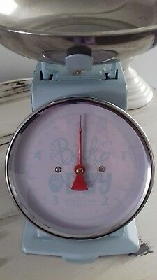 "kitchen scales made by mason of England top quality 10""h x 9"" by7"""