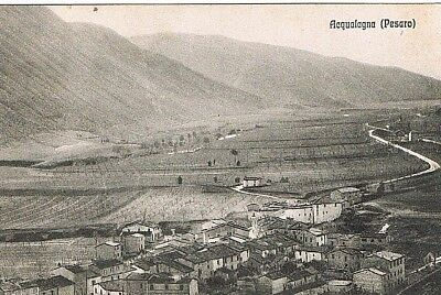 Acqualagna  - Panorama  - 1925