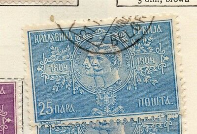 Serbia 1904 Early Issue Fine Used 1pa. 267121