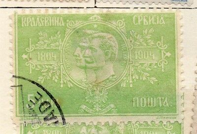 Serbia 1904 Early Issue Fine Used 5pa. 267057