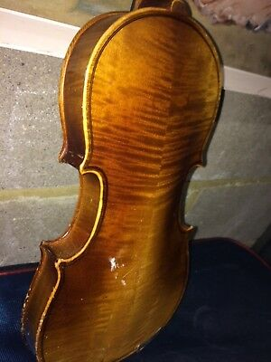 Old violin child size Bohemian