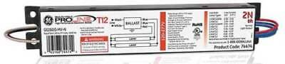 GE 74474 - 48 to 138 Watts, 1 or 2 Lamps, Electronic Ballast FREE SHIPPING