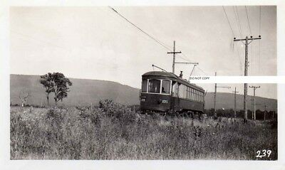 Hagerstown & Frederick RY H&FRY Photo Car #171 July 17 1933