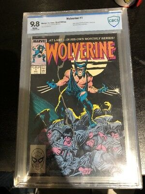 WOLVERINE #1 1st PATCH 1988 On-Going Buscema Williamson Byrne CBCS 9.8