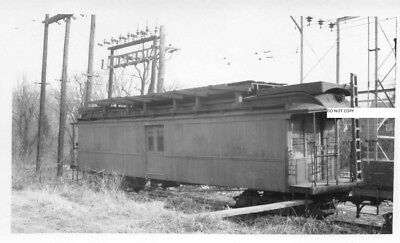 Washington Baltimore & Annapolis RR WB&ARR Photo MOW Line Car in Yard