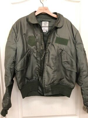 US Army Summer Flyers Jacket 8415-01-010-1913 --  XL(46-48)  CWU 36/P  420