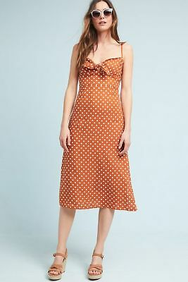 92d5b11ca5e NWT Anthropologie Faithfull Polka Dot Midi Dress by Faithfull The Brand  Medium.