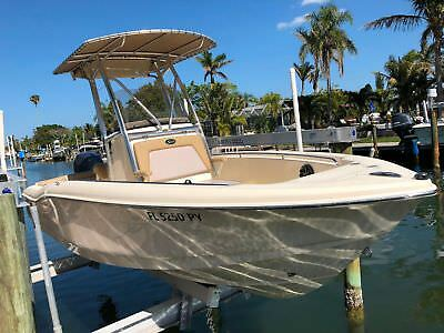 Scout*210 Xsf*79 Hours*raymarine Gps*side Scan*150Hp Yamaha 4 Stroke*trailer*fla