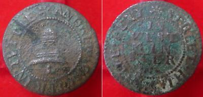 Very rare London, Westminster, Tothill St Andrew Carter bell BW 3157 halfpenny