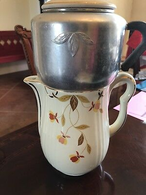 autumn leaf jewel tea Percolator Coffee Pot