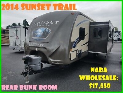 2014 CrossRoads Sunset Trail Reserve ST32BH Used