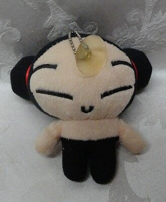 """SOK Sonokong Vooz Japanese Anime Pucca 5"""" Suction Cup Rare HTF Japan Label Doll"""