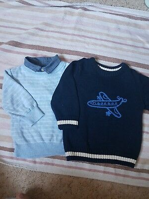 Next Boy 6-9 Months Jumpers