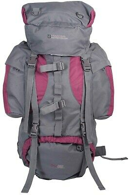 Mountain Warehouse Large Rucksack 65L Backpack Travelling Backpacking Camping
