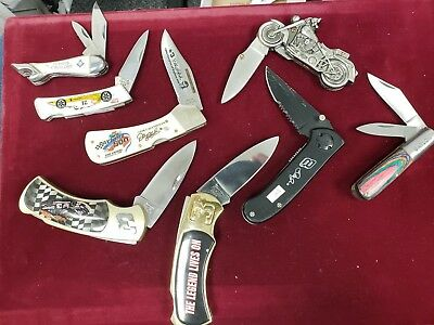 Assortment of 8 Knives