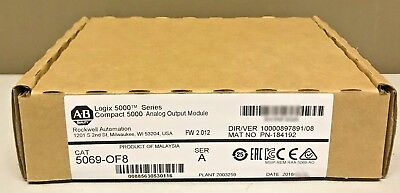 2018 New Sealed Allen-Bradley 5069-OF8 Compact I/O 8-Ch Current/Voltage Output