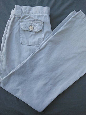 Juniors Size 11 Jeans/pants Roxy Solid Beige Euc/100% Cotton Free Shipping!