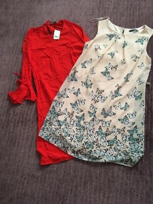 Two Sz 10 Dresses One New With Tags