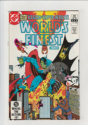 Worlds Finest #284 F+ glossy Composite Superman 1982