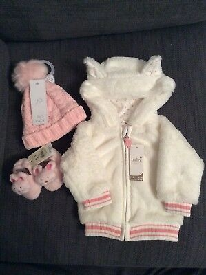baby girl clothes winter bundle 0-3 months new with tags