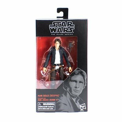 Star Wars The Black Series Han Solo Bespin 6-Inch Action Figure In Stock!