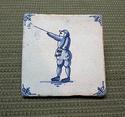 Antique Dutch Blue & White Delft Tiles
