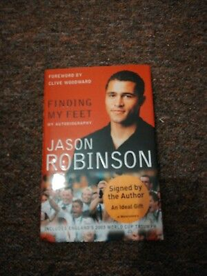 Jason Robinson Signed Book