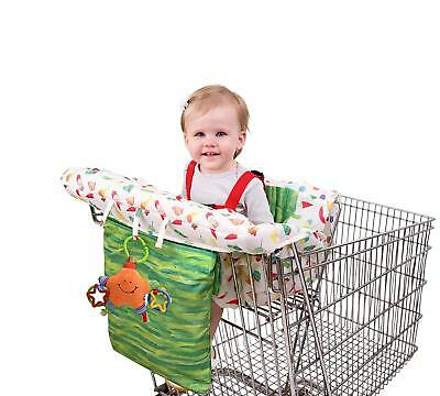 Eric Carle Shopping Cart and Hi Chair Cover, Baby Cart Cover, Grocery Shopping