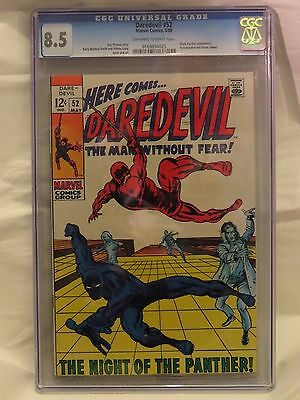 Daredevil #52 CGC 8.5 - Black Panther app, Yellowjacket and  Vision cameo