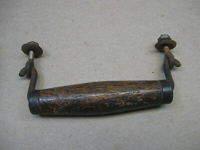 Antique Vtg Columbia Graphophone Cylinder Record Player Wood Lid Handle Only