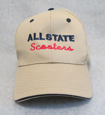 Allstate Scooters Cap ~ Custom Embroidered Hat ~ Sears Motor Scooters ~ New