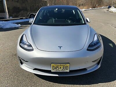 2018 Tesla Model 3 Long Range 2018 Tesla Model 3 Long Range, Premium Interior Package, Upgraded Battery