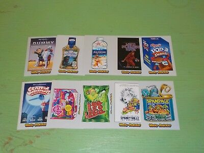 2018 Topps Wacky Packages Silver Parallel #d /50 Lot of 10 Cards Nice! A45