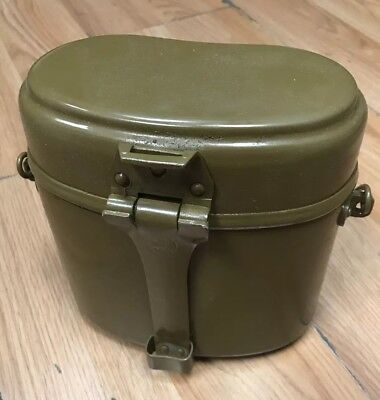 Original Russian USSR Army Military Soldier Set Lunch Box Food Cup Bowl Kettle!