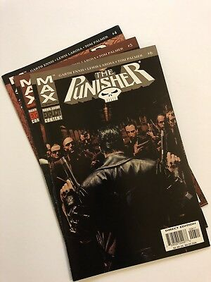 Max Comic -The Punisher - Issue 4, 5, 6