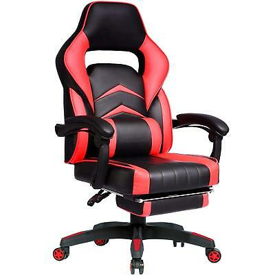 Gaming Chair Racing Style Office Adjustable Ergonomic Swivel Computer Desk Chair