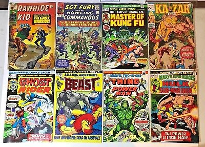 Vintage Marvel Raw Readers Comic Lot Of 8 w/ Special Marvel Edition 15 Key Issue