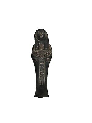 RARE ANCIENT ANTIQUE EGYPTIAN STATUE Shabty Shabtiu Ushabti 500 Bc