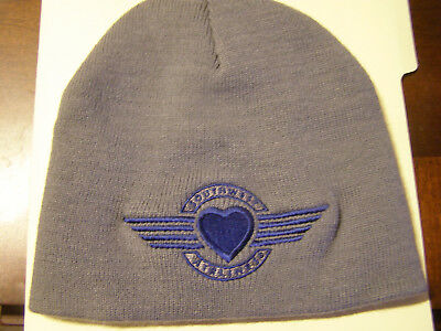 Southwest Airlines Blue And Gray Beanie