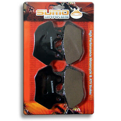 Harley F+R Brake Pads Dyna & Softail Series (2000-2007) (Check Compatibilities)