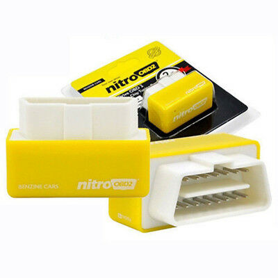 Yellow OBD2 Chip Tuning Remap Box For Ford TDCi Kuga Transit Fiesta Focus Fusion