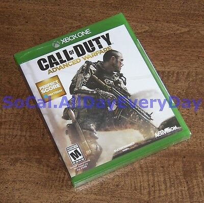 Call of Duty Advanced Warfare (Xbox 1 One) BRAND NEW & FACTORY SEALED CoD:AW xb1