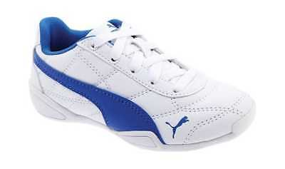 PUMA Boys  Tune Cat 3 Jr Sneaker PUMA White Strong Blue Sneakers 4f3c6c0cc