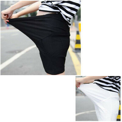 Summer Shorts For Women New soft Elastic Pregnant Pants Maternity Care Belly