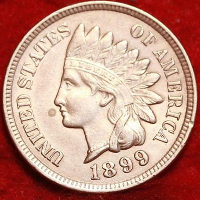 Uncirculated 1899  Philadelphia Mint  Indian Head Cent
