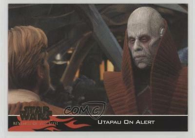 2005 Topps Star Wars: Revenge of the Sith #43 Utapau on Alert Card 0b0