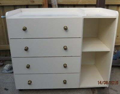 Chest Of Drawers With Shelves  Or Change  Table