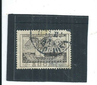 FINLAND 1935. 100th ANNIV OF FINISH EPIC.  USED.  AS PER SCAN