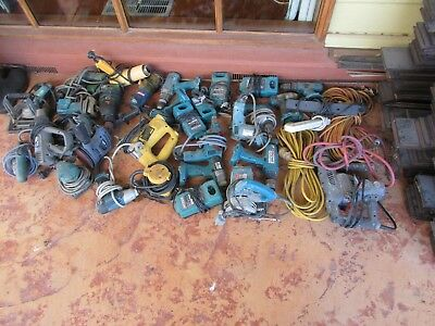 power tools 18 corded 6 cordless makita bosch dewalt ryobi and others all workin