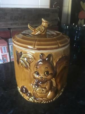 Vintage Squirrel Cookie Jar - Made In Japan  - Very Collectable - Rare